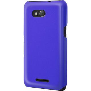 Husa Capac Spate Mfx Glossy Albastru Sony Xperia E