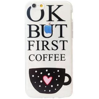 Husa Capac Spate Morning Coffee Apple Iphone 6  Ip