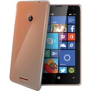 Husa Capac Spate Transparent Microsoft Lumia 435