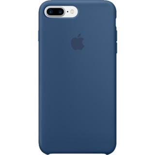 Husa Capac Spate Ocean Silicon Albastru Apple Ipho