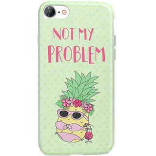 Husa Capac Spate Pineapple Verde Apple Iphone 7