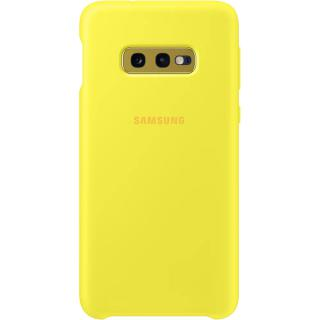 "<font color=""FF00CC"">Promotie!</font> Husa Capac Spate Silicon Galben SAMSUNG Galaxy S10E thumbnail"