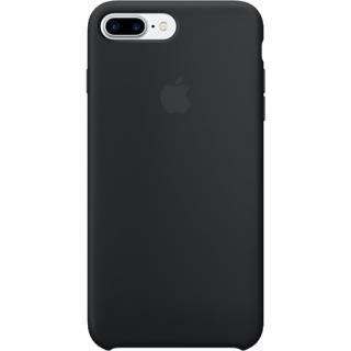 """<font color=""""FF00CC"""">Promotie!</font> Husa Capac Spate Silicon Negru Apple iPhone 7 Plus, iPhone 8 Plus thumbnail"""