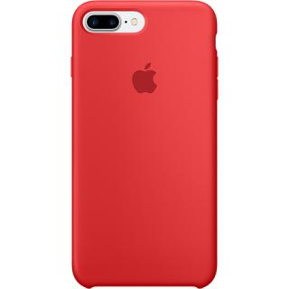 "<font color=""FF00CC"">Promotie!</font> Husa Capac Spate Silicon Rosu Apple iPhone 7 Plus, iPhone 8 Plus thumbnail"