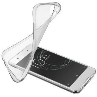 Husa Capac Spate Soft Transparent Sony Xperia Xa1