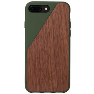 Husa Capac Spate Walnut Wood Maro Apple Iphone 7 P