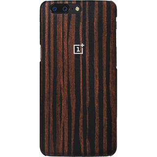 "<font color=""FF00CC"">Promotie!</font> Husa Capac Spate Wood Maro ONEPLUS 5 thumbnail"