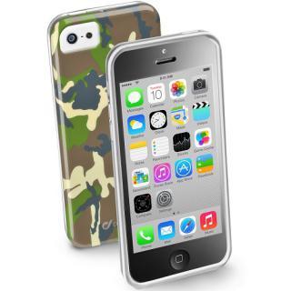 Husa Capac Spate Army Verde Apple Iphone 5c
