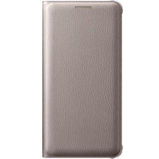 Husa Flip Wallet Auriu Samsung Galaxy A5 2016