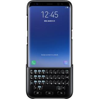 Husa Keyboard Negru Samsung Galaxy S8