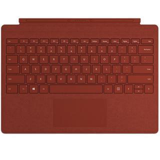 Husa Agenda Pro Signature Type Cu Tastatura Pentru Surface Pro Poppy Red Rosu