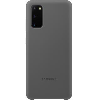 Husa Silicon Gri SAMSUNG Galaxy S20