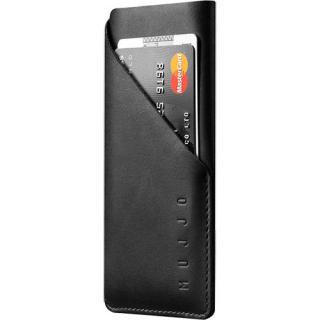 Husa Sleeve Wallet Piele Negru Apple iPhone 7, iPhone 8 thumbnail
