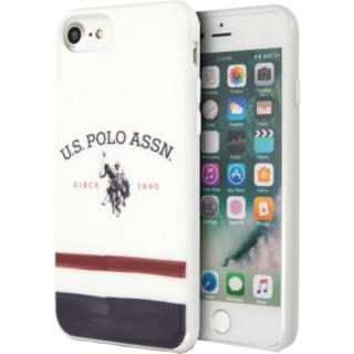 Husa Tricolor Pattern Collection Alb APPLE iPhone 8, iPhone SE 2020