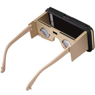 Ochelari Vr Case 2 Incorporati Direct In Husa Negru Auriu Apple Iphone 6 Plus/6s Plus