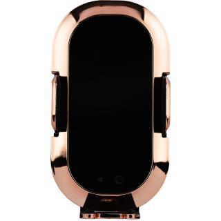 "<font color=""FF00CC"">Promotie!</font> Incarcator Wireless Cu Incarcare Rapida 10W Negru/Auriu thumbnail"