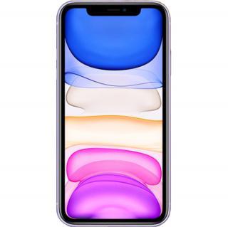 """<font color=""""FF00CC"""">Promotie!</font> IPhone 11 Dual Sim 64GB LTE 4G Violet 4GB RAM thumbnail"""