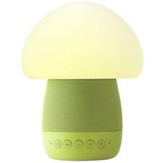 Lampa Smart Led Mushroom Cu Senzor De Noapte Si Boxa Wireless