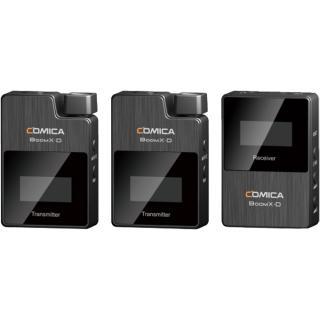 Microfon Digital Wireless Ultracompact Cu Lavaliera Boom X-D D2 Pentru Telefoane Si Camere DSLR Negru