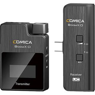 Microfon Digital Wireless Ultracompact Cu Lavaliera Boom X-D UC1 Negru