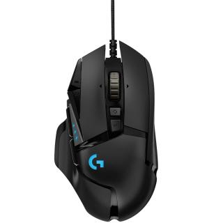 "<font color=""FF00CC"">Promotie!</font> Mouse Gaming G502 Hero Negru thumbnail"