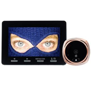 "<font color=""FF00CC"">Promotie!</font> Peephole Sonerie Smart Cu Camera Video Si Senzor Infrarosu thumbnail"