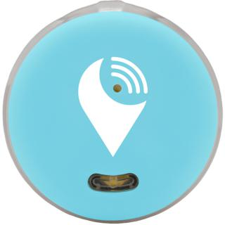 Pixel Dispozitiv De Localizare Bluetooth Aqua Albastru