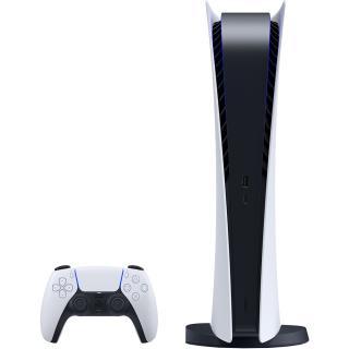 imaginea Playstation 5 PS5 Digital Edition Alb