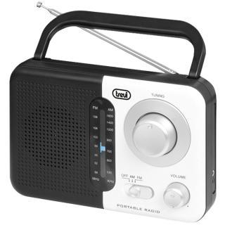 Radio Portabil Dual Band Alb thumbnail