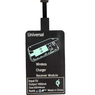 Receptor Incarcare Wireless Pentru Toate Telefoanele Android Negru