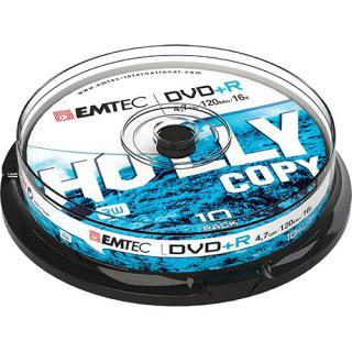 Set Discuri Recordable 10 Bucati Dvd R 4.7gb