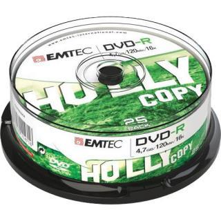 Set Discuri Recordable 25 Bucati Dvd-r 4.7gb
