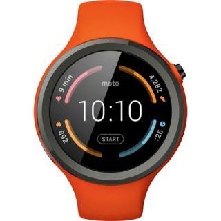 Smartwatch Moto 360 45mm 2nd Gen Sport Silicon Portocaliu