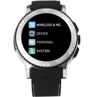 Smartwatch City Exclusive Edition Waterproofi Curea Silicon Negru