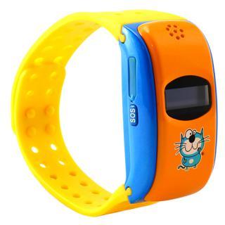 Smartwatch City Silicon Pentru Copii Cu GPS Galben