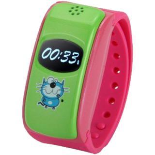 Smartwatch City Silicon Pentru Copii Cu GPS Roz