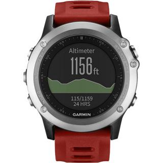 Smartwatch Fenix 3 Multisport GPS HR Performance Bundle Curea Silicon Rosie