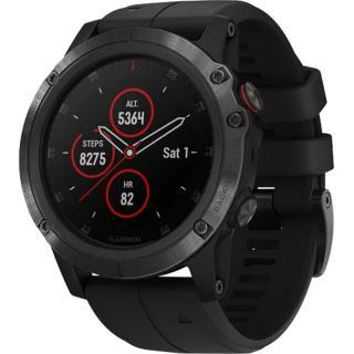 """<font color=""""FF00CC"""">Promotie!</font> Smartwatch Fenix 5X Plus Sapphire Edition Negru thumbnail"""