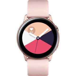 """<font color=""""FF00CC"""">Promotie!</font> Smartwatch Galaxy Watch Active Roz thumbnail"""