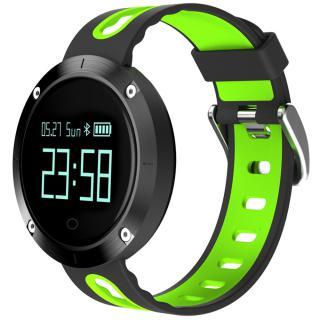 Smartwatch Monitorizare Tensiune Ip68 Verde Negru