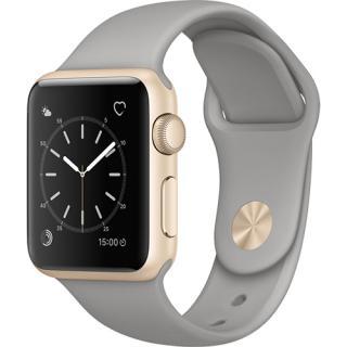 Smartwatch Watch 1 38MM Aluminiu Auriu Si Curea Sport Gri