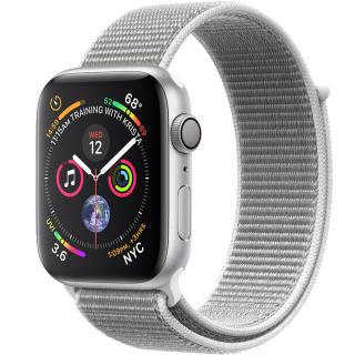 "<font color=""FF00CC"">Promotie!</font> Smartwatch Watch 4 GPS 40MM Aluminiu Argintiu Si Curea Loop Argintiu thumbnail"