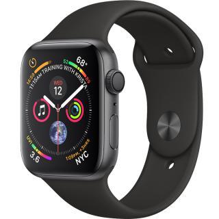 "<font color=""FF00CC"">Promotie!</font> Smartwatch Watch 4 GPS 40MM Aluminiu Negru Si Curea Sport Negru thumbnail"