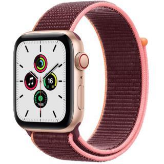 Smartwatch Watch SE GPS   Cellular 44mm Gold Aluminium Plum Sport Loop Violet