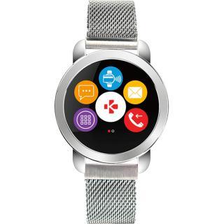 Smartwatch Zecircle 2 Premium Flat Milanese Argintiu