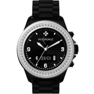 Smartwatch ZeClock Swarovski Negru