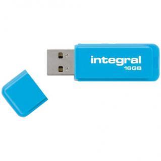 Stick USB 16GB Drive Neon USB 2.0 Albastru thumbnail