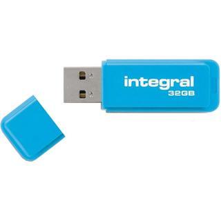 Stick Usb 32gb Drive Neon Usb 2.0 Albastru
