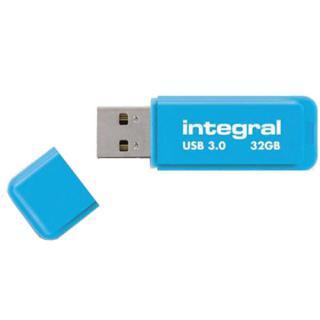 Stick Usb 32gb Neon Albastru
