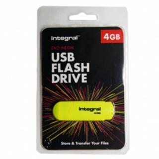 Stick USB 4GB Evo 54-26-45 Galben thumbnail